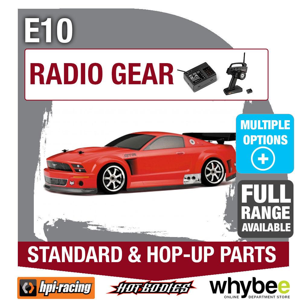 HPI E10 [Radio Gear] Genuine HPi Racing R C Standard & Hop-Up Parts