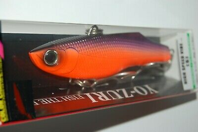 "5 1//4/"" Orange Black R1303COB Yo-Zuri High Speed Vibe Lure NEW"