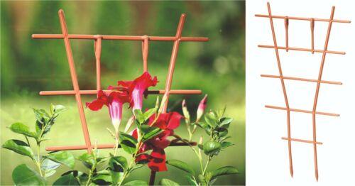 Trellis Plant Pot Support Climbing Plant Garden Flower Plastic 3//6//9//12//15 Pack