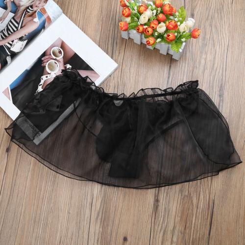Men Lingerie G-string Thongs Lace Bikini Underwear Sissy Pouch Panties Briefs