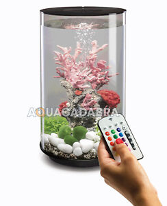 biOrb-TUBE-30L-BLACK-MCR-LED-AQUARIUM-LIGHTING-FILTER-ALL-IN-ONE-FISH-TANK