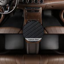 Car Floor Mats 4pc Universal Waterproof Non Slip Carpets Frontamprear Carbon Fiber Fits 2012 Toyota Corolla