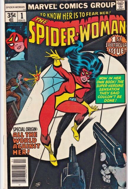 SPIDER-WOMAN#1 FN/VF 1978 MARVEL BRONZE AGE COMICS