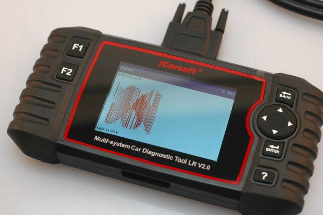 LR V 2.0 OBD Deep Diagnostics for all Control Units Fits Land Rover