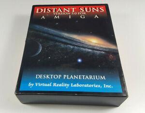 Distant-Suns-5-0-Commodore-Amiga-Planetarium-VR-Tool-Big-Box-OVP-VGC-CIB