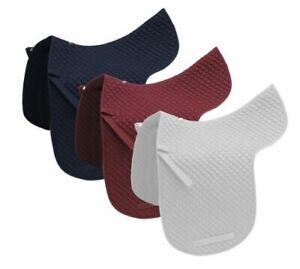 English-Dressage-Saddle-Horse-Quilted-Cotton-Saddle-Pad-Baby-Pad