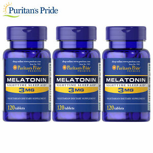 Puritan-039-s-Pride-Melatonin-3-mg-Sleep-Aid-360-tablets