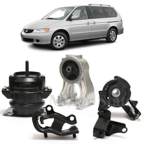 For 99 00 01 02 03 04 Honda Odyssey Front Rear Right Engine Motor /& Trans Mounts
