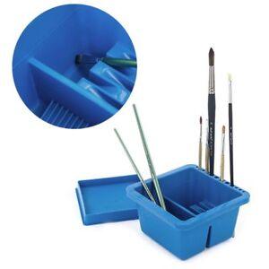Brush Washing Bucket Multifunction Pen Barrel Painting Brush Washer Art Supplies