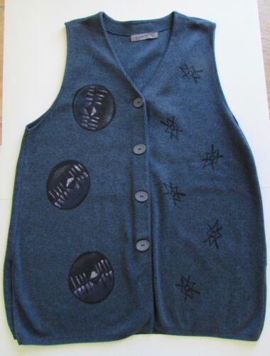 Blue Vest One Cotton Fish Size Strik ZUwUtr