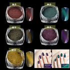 Fashion Cat Eye Magnet Thermal Color Change Nail Powder Glitter Gel Polish UV
