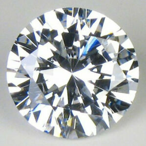 CUBIC-ZIRCONIA-Loose-Round-Stone-CZ-USA-Shipper-Excellent-Quality