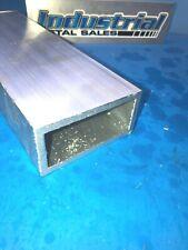 6063 Aluminum Rectangle Tube 2 X 4 X 12 X 14 Wall 2 X 4 X 250 Wall