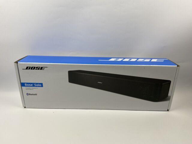 "Bose 776850-1170 Solo Bluetooth TV Speaker 22"" 120 Volts, Black."