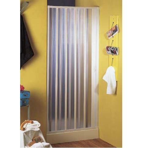 BOX DOCCIA A SOFFIETTO SPAZIO MARTE STRUTTURA PVC APERTURA LATERALE 140x185H
