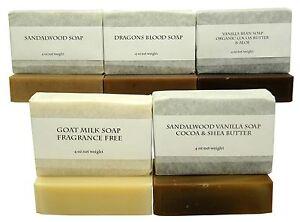 Good-Earth-Spa-Soap-5-Bar-Pack-Vanilla-Sandalwood-Goat-Milk-Soap-Dragons-Blood