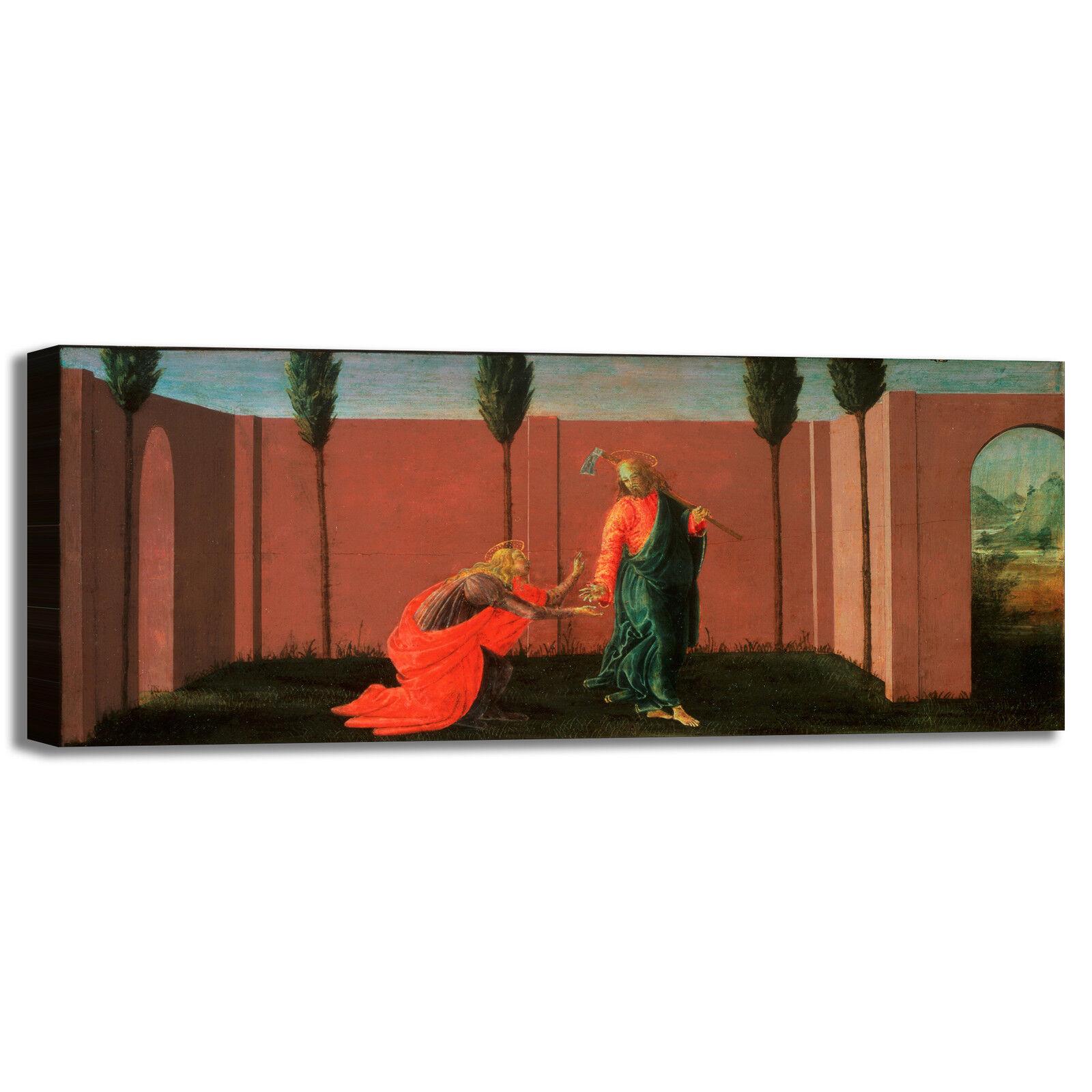 Botticelli noli me tangere quadro stampa tela dipinto telaio arroto casa