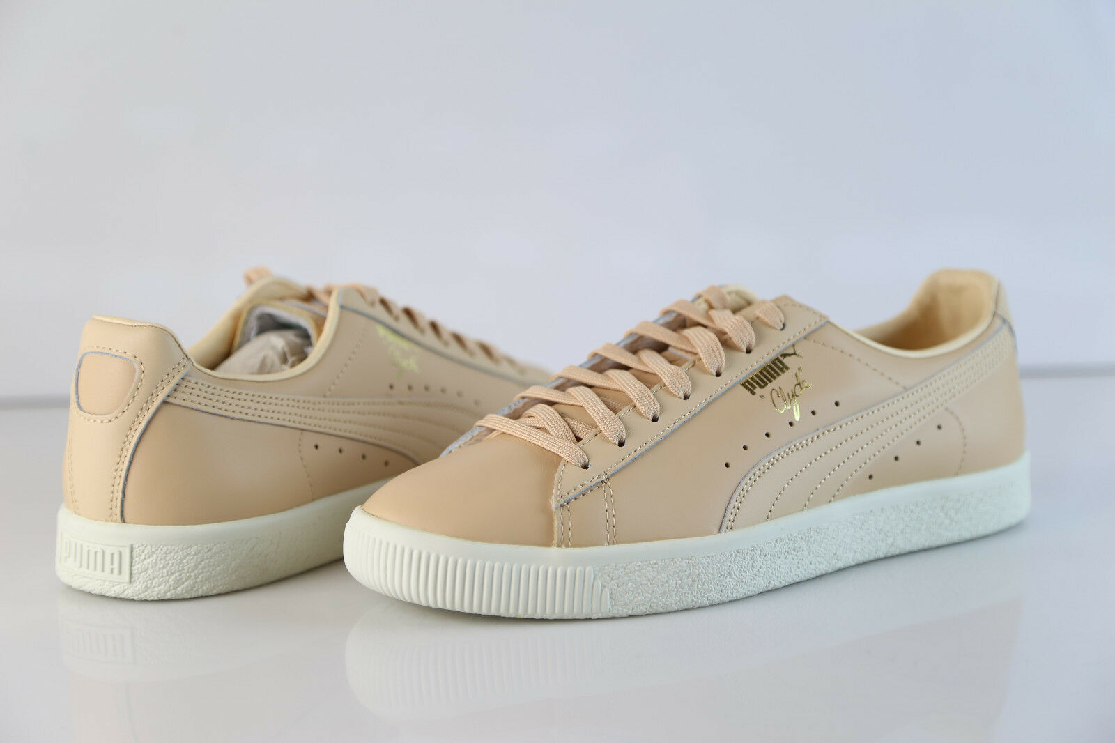 finest selection 95147 6f87b ... Puma Clyde Natural Vachetta Tan 363617 03 8-9.5 8-9.5 8-9.5 ...