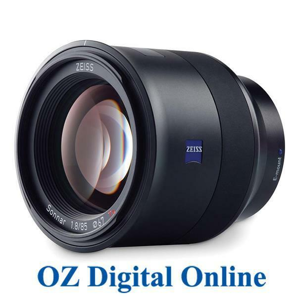 NEW Carl Zeiss Batis 85mm F1.8 for Sony E mount Lens 1 Year Aust Wty
