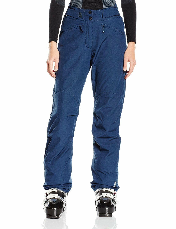 NEW Eider Lamolina 2 damen Ski Pants Trousers Night Shadow Blau Größe  UK 8