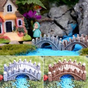 Diy Resin Ornament Garden Ornaments Fairy Grey Plasitic Bonsai Art Home Decor Le Ebay