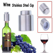 New Stainless Steel Vacuum Sealed Wine Bottle Stopper