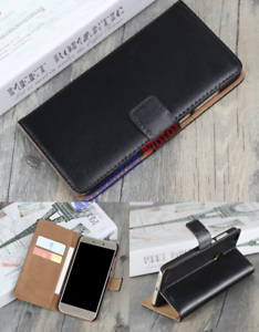 Luxury-Genuine-Leather-Flip-Stand-Case-Wallet-Cover-For-Various-Mobile-Phones