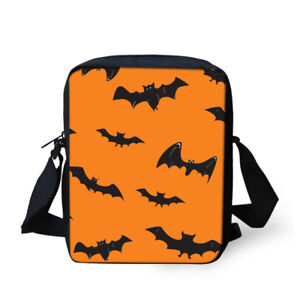 Halloween Pattern Shoulder Crossbody Messenger Schoolbag Casual Purse Handbag