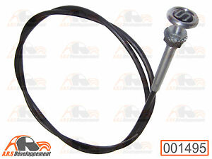 tirette cable starter incription s neuve citroen 2cv dyane mehari hy 1495 ebay. Black Bedroom Furniture Sets. Home Design Ideas