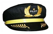 Children's Pilot Hat by Daron - Generic Kid's Airline Captain Hat - HT001