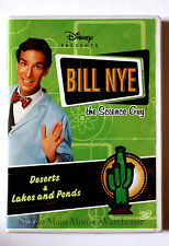 Bill Nye The Science Guy Deserts & Lakes and Ponds Ecosystems Educational DVD