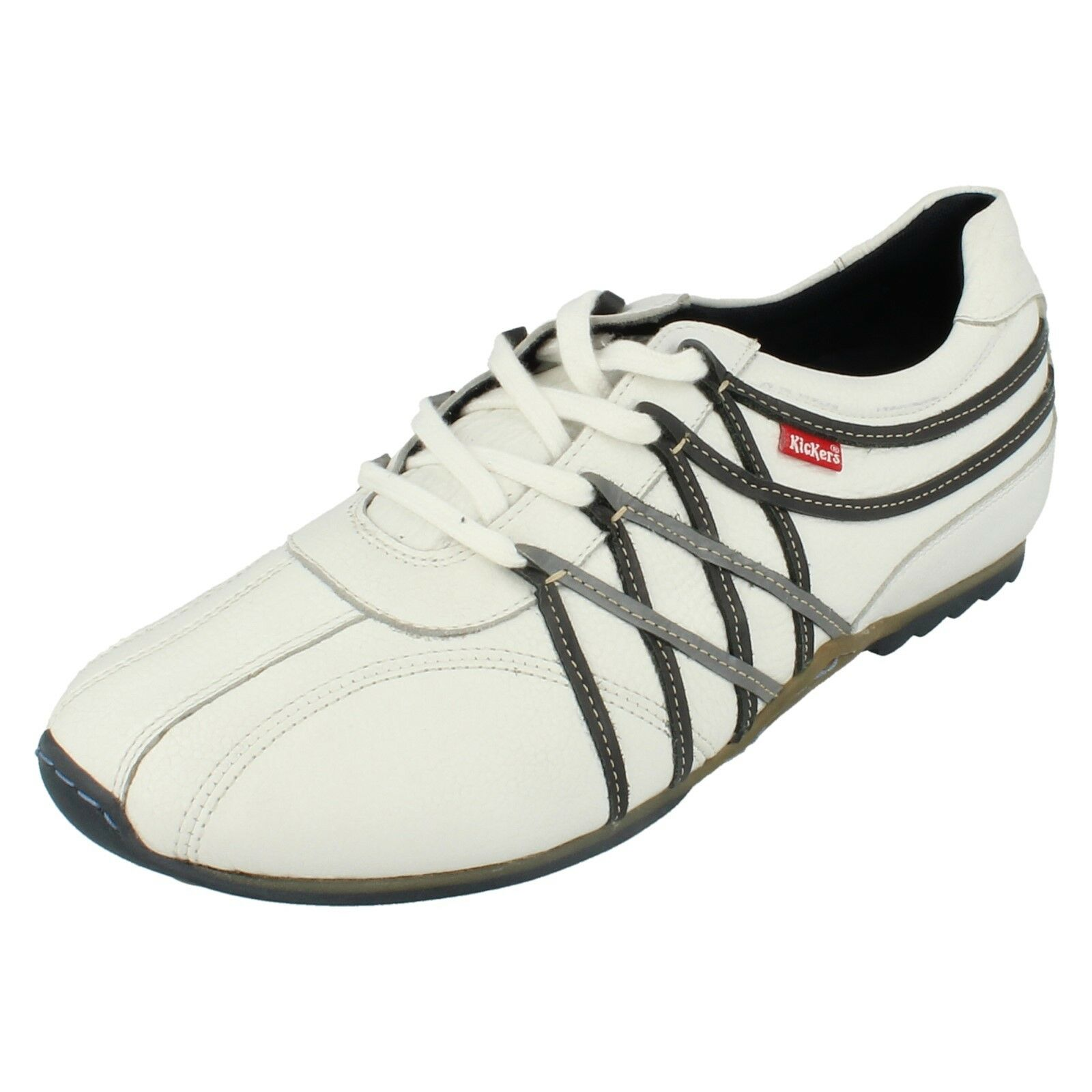 Mens Kickers Lace Up Casual shoes Zero Lace 3