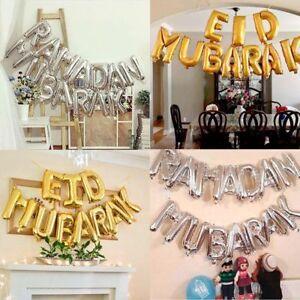 Festival-Decoration-Inflatable-Toys-RAMADAN-MUBARAK-Eid-Mubarak-Foil-Balloons