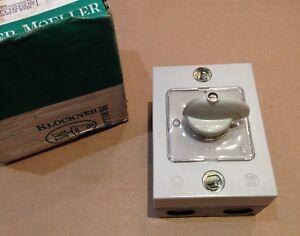 KLOCHER - MOELLER I55 On - Off 3 Pole Switch Interrupteur T20b-1i
