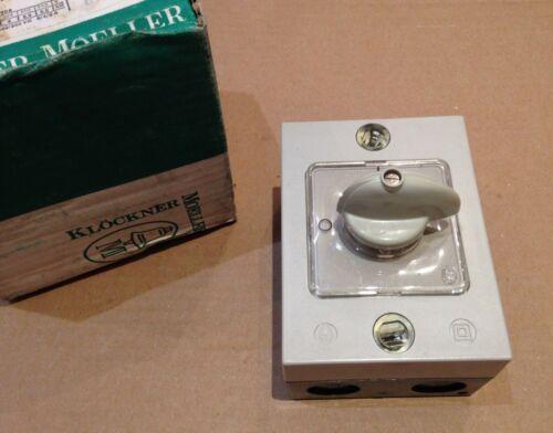 Off 3 Pole Switch Interrupteur T20b-1i MOELLER I55 On KLOCHER