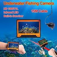 Professional 4.3 Hd Display Fish Finder Underwater Fishing Video Camera Monitor