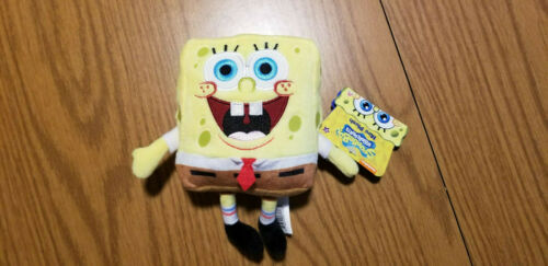 New w// Tags Spongebob Squarepants Mini Plush Stuffed Animal Official Nickelodeon