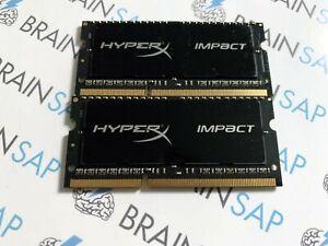 16GB-Kit-2x-8GB-DDR3-Kingston-HyperX-Impact-HX318LS11IBK2-16-SO-DIMM-1866-MH
