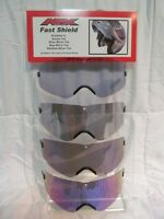 Universal Scooter Helmet Stationary Visor Shield