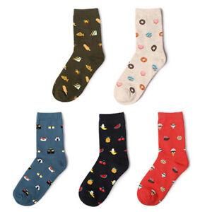 Sushi-fruit-Print-Art-Socks-Women-Men-Cotton-Harajuku-Famous-Painting-Socks