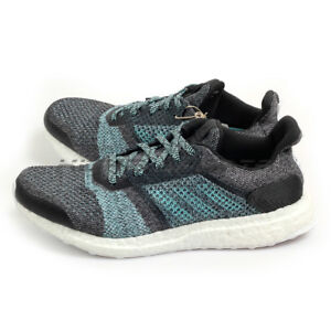 01cb86ccdbb Adidas UltraBoost ST Parley Grey Blue Spirit Running Shoes Sneakers ...