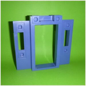 * Playmobil 2 x Pfosten blau aus Set 3965 *