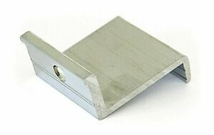 10 Stück Modul Endklemmen 45mm Solar PV Photovoltaik Aluprofil Befestigung