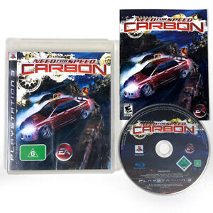 Need For Speed Carbon Ps3 Playstation 3 Nfs With Manual Aus Ebay