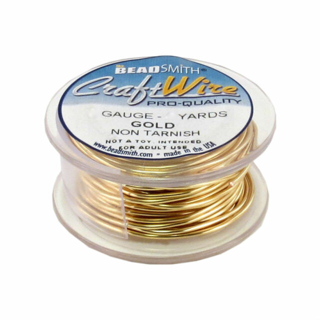 Beadsmith 28 Gauge Titanium Color Copper Wire 15 Yards