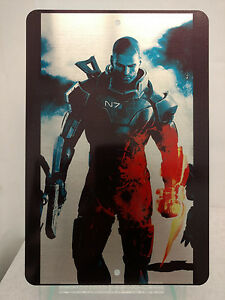 Mass-Effect-Commander-Shepard-Male-or-Female-Shep-Brushed-Metal-Sign