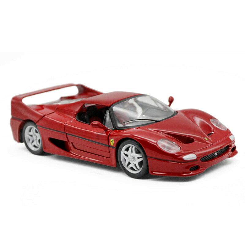 1 24 Ferrari F50 Red Super Racing Sports Car Model Diecast Collectible Toy