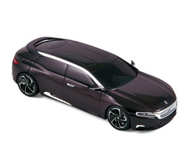 Citroen Numero 9 Concept dark purple met 2012 Norev 159501 1 43