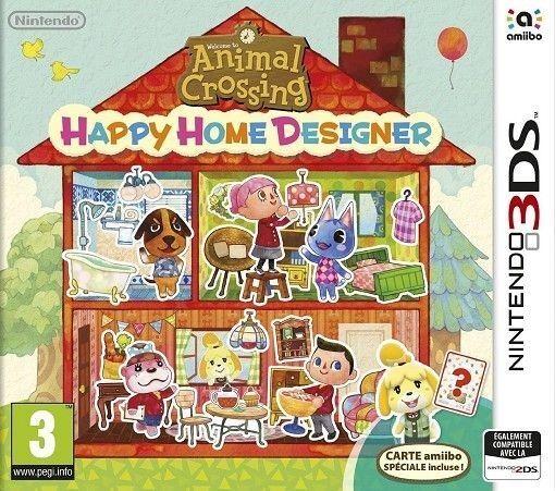 Jeu Animal Crossing Happy Home Designer  sur Nintendo 3DS
