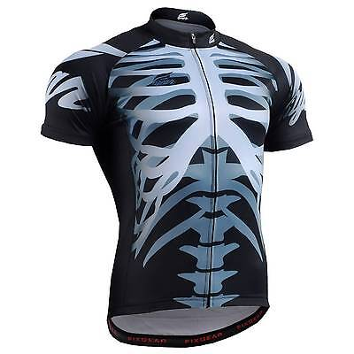 FIXGEAR CS-5502 Men's Short Sleeve Cycling Jersey Bicycle Apparel Roadbike MTB